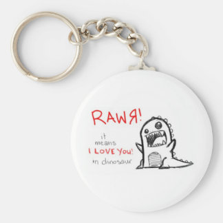 rawrr rund nyckelring
