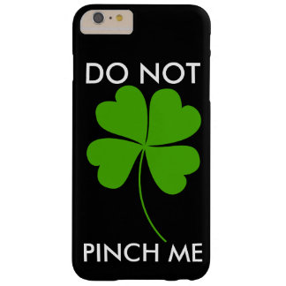 RAZZIA FÖR ST.PATICKSDAY/DO INTE MIG BARELY THERE iPhone 6 PLUS SKAL