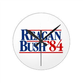 Reagan Bush '84 kampanj Rund Klocka
