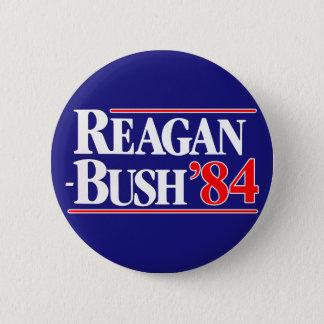 Reagan Bush 84 Standard Knapp Rund 5.7 Cm