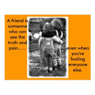 real_friends a-vän. vykort