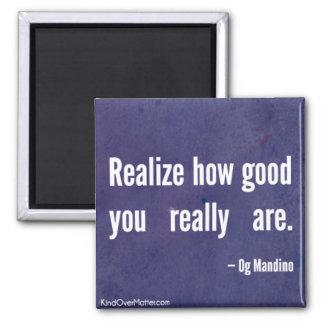 Realisera hur bran dig är egentligen