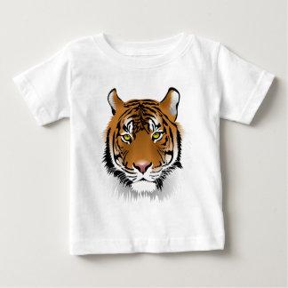 Realistiskt Bengal tigeransikte T Shirts
