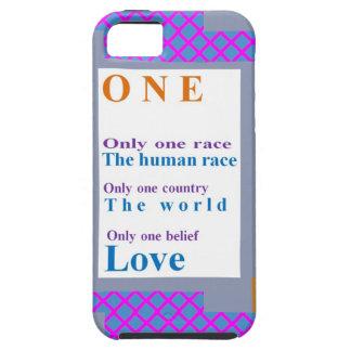 Realitettro:  Ett folk, en tävling, KÄRLEK iPhone 5 Case-Mate Skydd