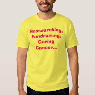 Reasearching och att fundraising och att kurera tshirts