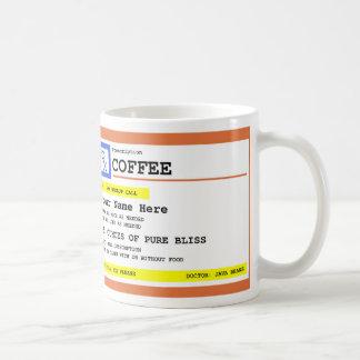 Receptkaffepersonlig Kaffemugg