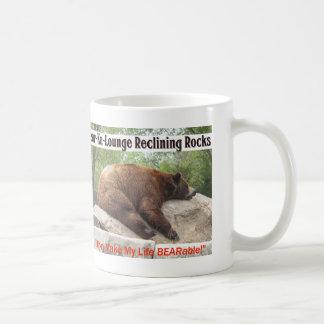 Reclining björn kaffemugg