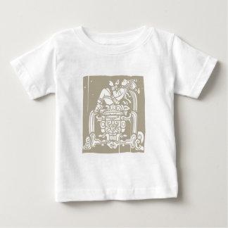 Reclining Mayan träkloss T Shirts