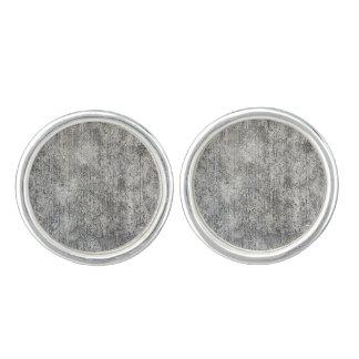 Red ut grå färg cementerar trottoaren cufflinks