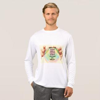 Redaktörs kristallkulaskjorta tröjor
