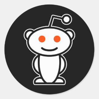 Reddit främling runt klistermärke