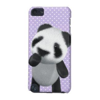(Redigerbara) gulliga funderare för Panda 3d, iPod Touch 5G Fodral