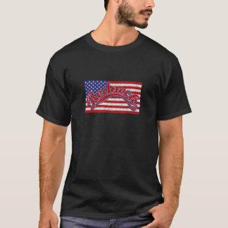 Redneck och flagga tee shirt
