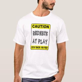 Redneck på lek t shirt