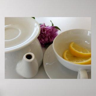redo för tea poster
