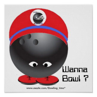 Redo som ska bowlas print
