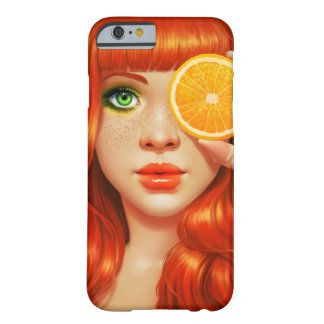 RedOrange Barely There iPhone 6 Fodral