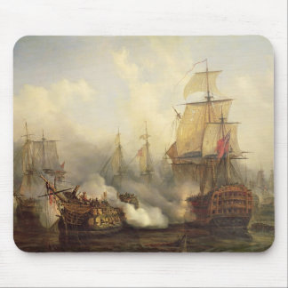 Redoutablen på Trafalgar, 21st Oktober 1805 Musmatta