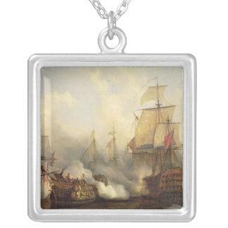 Redoutablen på Trafalgar, 21st Oktober 1805 Silverpläterat Halsband