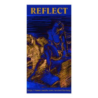 """""""REFLEKTERA"""" beställnings- konst Photocard Fotokort"""