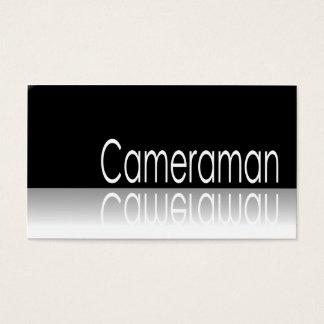 Reflekterande text - Cameraman - visitkort