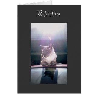 Reflexion Hälsningskort
