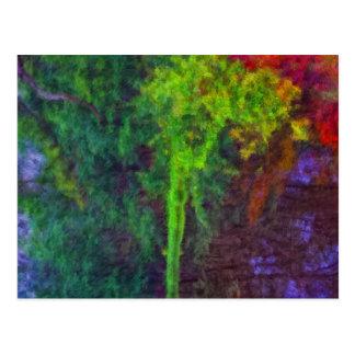 Reflexion-Impressionist Vykort