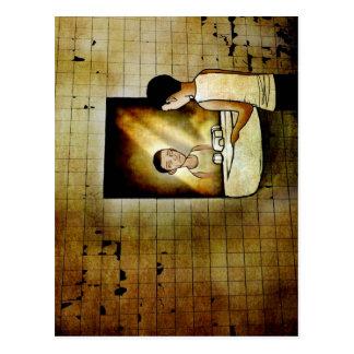 Reflexioner av en framtid vykort