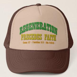 Regeneration kommer före tro keps