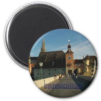 Regensburg Magnet Rund 5.7 Cm