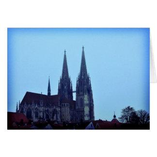 Regensburger Dom Hälsningskort