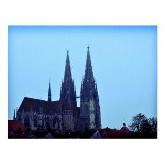 Regensburger Dom, Tyskland Vykort