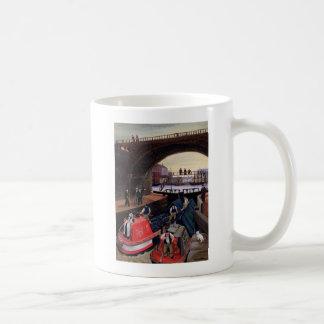 Regent kanal låser kaffemugg