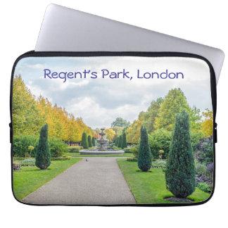 Regenten parkerar, den London laptop sleeve