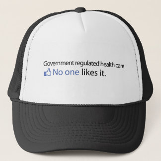 Regeringen reglerade sjukvård truckerkeps