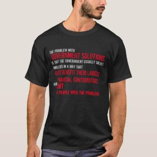Regerings- lösningar t-shirts