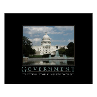 Regerings- tryck posters