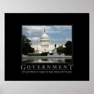 Regerings- tryck poster