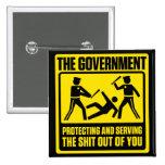Regerings- varning knäppas knappar