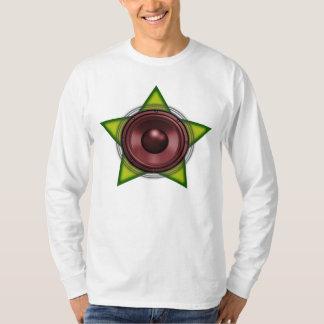 Reggae Dubstep för dub för WooferRasta stjärna T-shirts