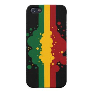 Reggae Splat 4 iPhone 5 Skydd