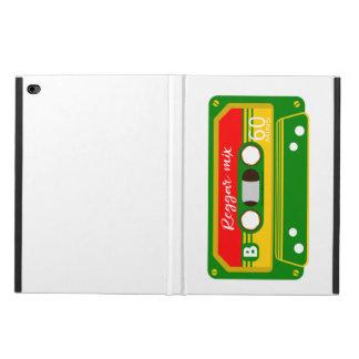 Reggaeblandningen tejpar den retro kassetten powis iPad air 2 skal