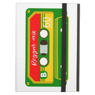 Reggaeblandningen tejpar kassetteighties iPad air fodral