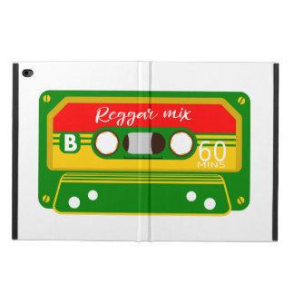 Reggaeblandningen tejpar kassetten Rastafarian Powis iPad Air 2 Skal