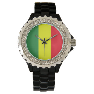reggaeflagga armbandsur