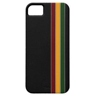Reggaen görar randig fodral för iPhone 5 iPhone 5 Cover