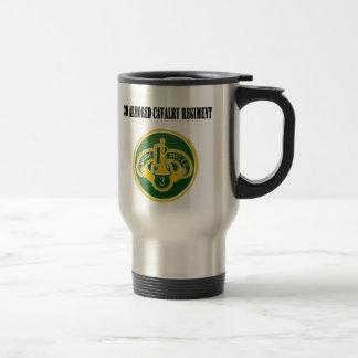 Regiment Armored kavalleri 3d travel mug Resemugg
