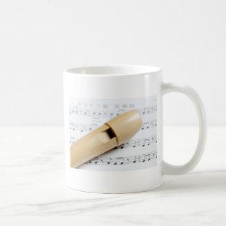 Registreringsapparat och notblad kaffemugg