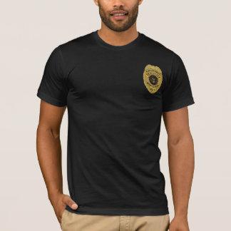 Registreringsutöva livvakt tee shirts