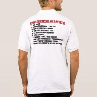 Regler för att datera min dottermanar skjortan för tröja